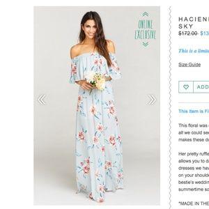 Show Me Your MUMU Hacienda Maxi Dress -Flower Hour
